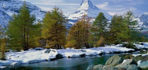 Schneelandschaft hintergrundbilder