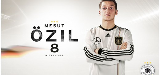 Mesut Özil mit Deuchland