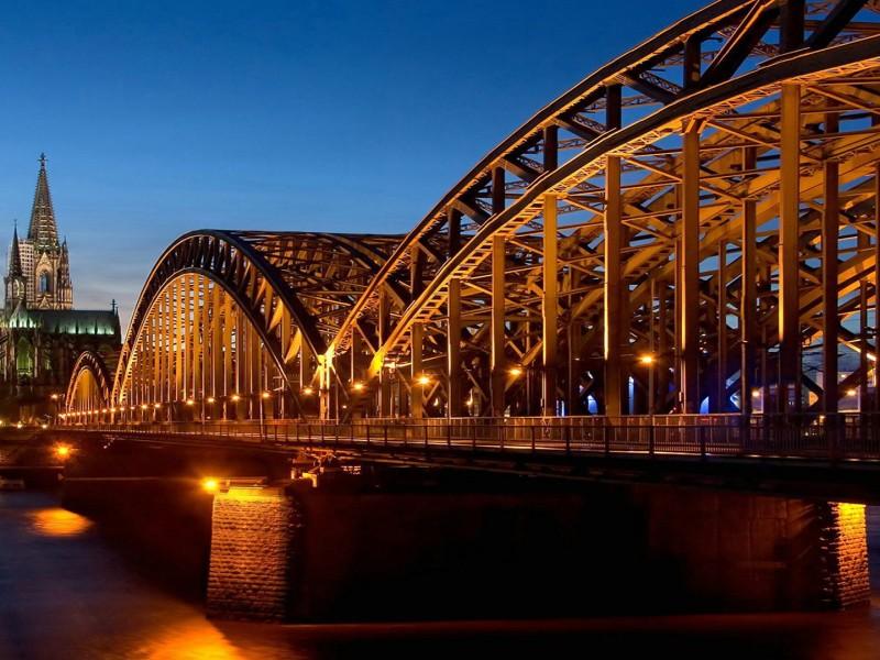 Hohenzollern Bridge wallpaper hd