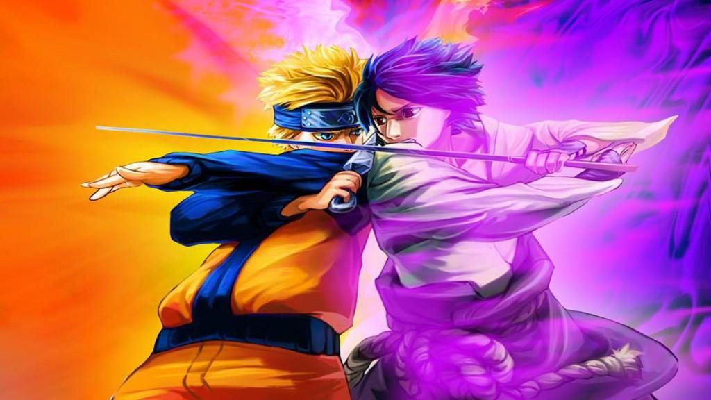 wallpaper hd anime naruto vs sasuke