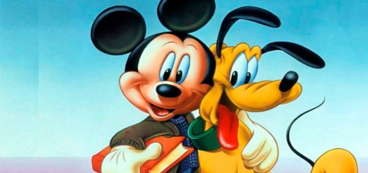 mickey und pluto wallpaper hd