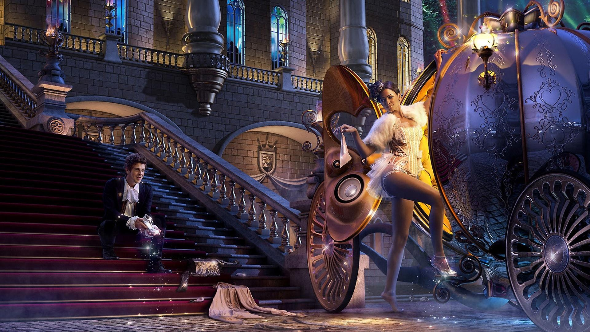 wallpaper hd von cinderella